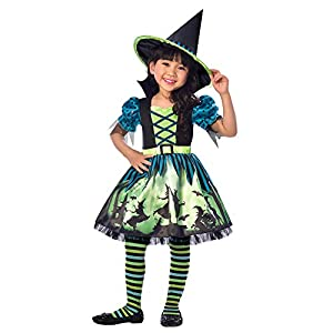 Child Hocus Pocus Witch Costume Age 4-6 YEARS