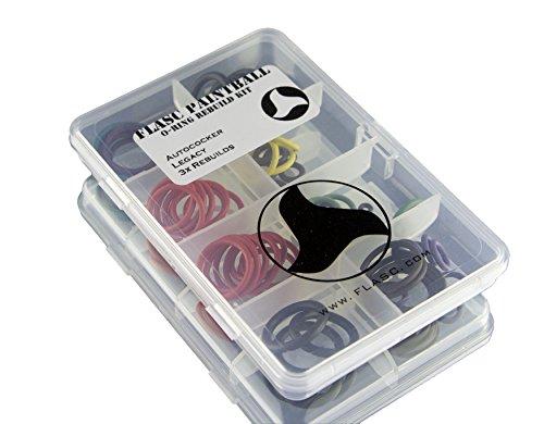 Autococker Legacy 3x farbig Paintball O-Ring Rebuild Kit von Flasc Paintball
