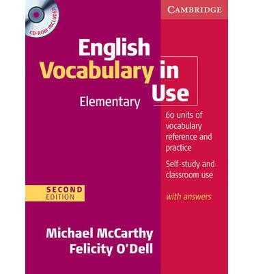 English Vocabulary in Use: Elementary with Answers and CD-ROM (Vocabulary in Use) (Mixed media product) - Common