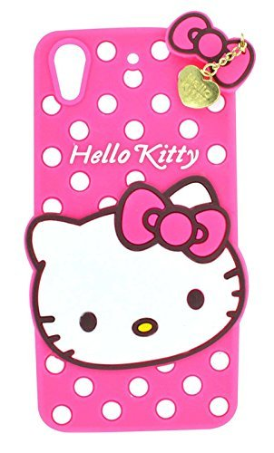 Cool & Creative Girls Special Cute Hello Kitty Back Cover For HTC 626