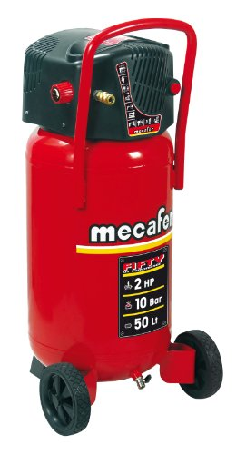 Mecafer 425090 Fifty - Compresseur cuve de 50 L | 2 CV