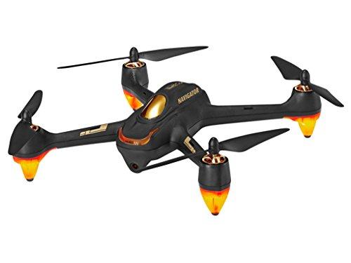 Revell Control RC GPS Quadrocopter mit FPV Full HD-Kamera, ferngesteuert mit GHz Fernsteuerung mit Display für Live-Stream & Telemetrie, bis zu 20 Min Flugzeit, Follow-me, Coming-home, NAVIGATOR 23899