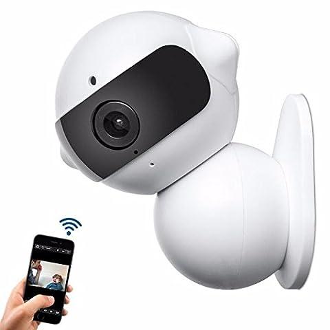 ELEGIANT HK-A6 Caméra Réseau IP Domestique sans Fil ,Mini Robot