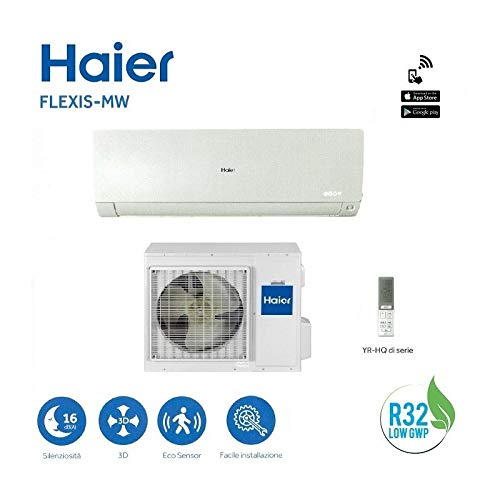 Haier FLEXIS-MW 9000 btu R-32 Klasse A+++ AS25S2SF1FA-MW WHITE Wi-Fi - NEW Haier 32