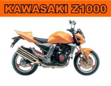 2023 EXTRA LARGE KAWASAKI Z1000 PUBLICIDAD SIGNO DE PARED RETRO METAL ART