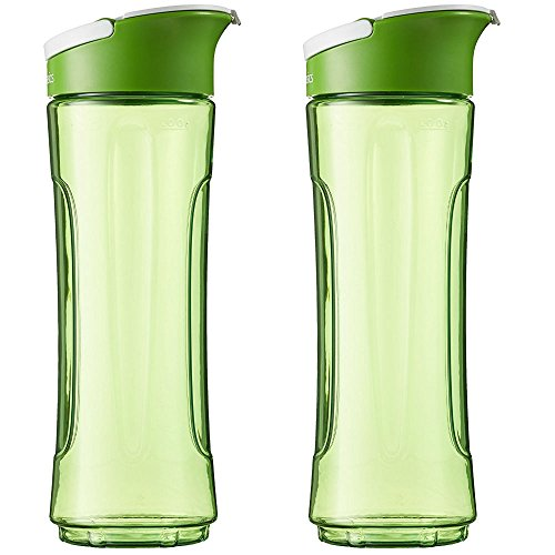 AmazonBasics - Botella de repuesto para Mix & Go, 600 ml, color...