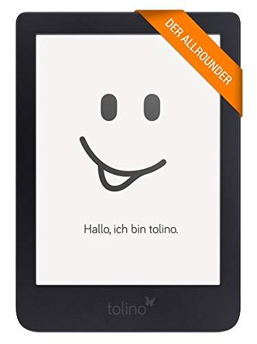 Tolino Shine 3 eBook-Reader Touchscreen 8 GB schwarz - E-Reader (15,2 cm (6 Zoll), E Ink Carta, 1072 x 1448 Pixel, Bildschirmgröße DRM, PDF, TXT, 8 GB, 25 GB)