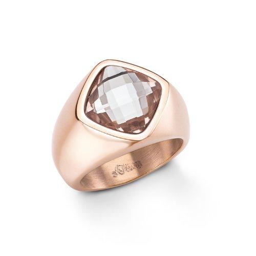 S-ring (s.Oliver Jewel Damen-Ring  Edelstahl Gr. 58 (18.5) 465380)