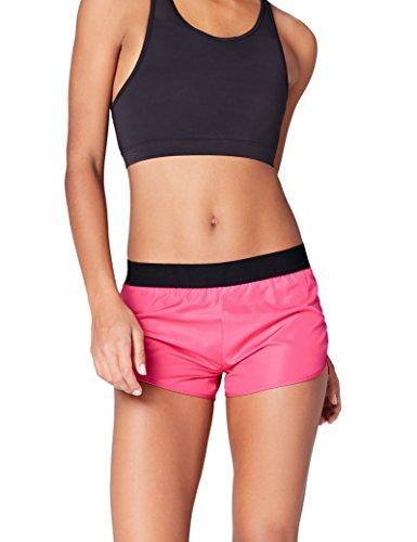 Activewear Shorts Damen, Rosa (Fuchsia), 40 (Herstellergröße: Large)