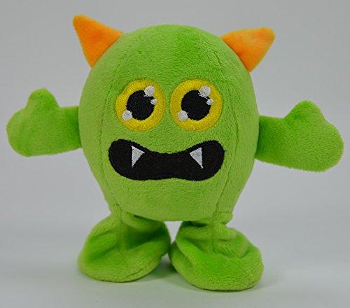 BUSDUGA - Laber-Lauf-Monster, Wir sprechen und Laufen - Wählen Sie Ihre Figur aus (Laber-Lauf Greeny)