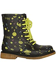 COLORS OF CALIFORNIA MID BOOT RUBBER BLA