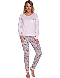 Italian Fashion IF Pijama Camiseta y Pantalones Mujer J4V3T1 0223