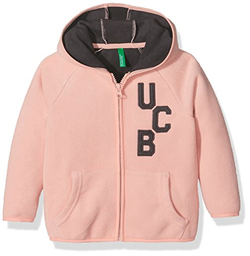 united-colors-of-benetton-3ki4c-sweat-shirt-a-capuche-garcon-orange-coral-6-7-ans-taille-fabricant-s