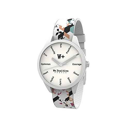 WE POSITIVE SPECIAL BLACK FRIDAY 50% OFF WATCH Ø36 MM PRINTED CRAZY COL. WHITE