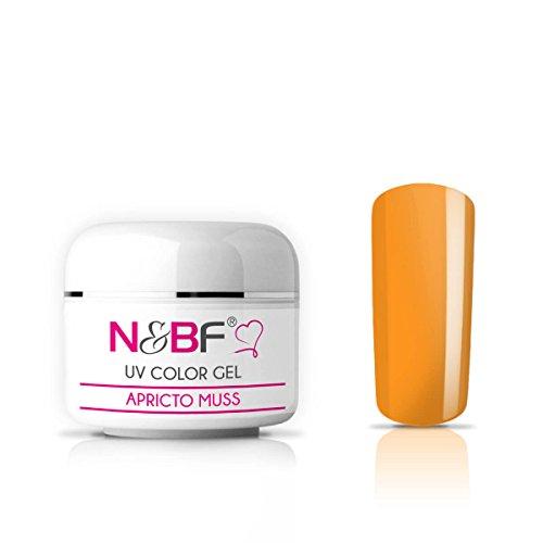 Gel UV Couleur Apricot Muss 5 ml Gel de couleur UV