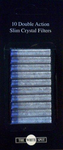 Dunhill Filterpatronen Slim Crystal Filters für Dunhill Zigarettenspitzen / 100 Stück