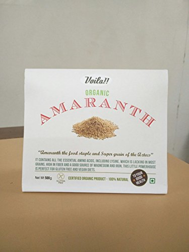 Voila Organic amaranth  available at amazon for Rs.190