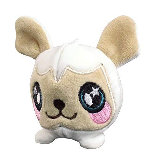 sorliva Squishimal Schaf 8,5 cm Squishy geschäumtes Plüsch gefüllt Squishimal Spielzeug langsam aufsteigend Anhänger Geschenk