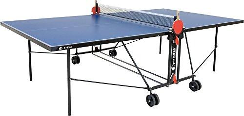 Blauer Outdoor-tischtennistisch (Tischtennistisch Outdoor blau S1-43E)