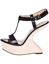 1TO3 - <p>Sandale talon compensé dans l´air</p>