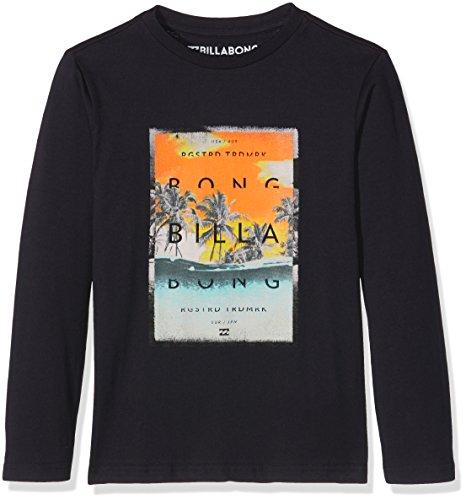 Overflow Billabong-Maglietta a maniche lunghe da ragazzo, colore: blu scuro, taglia: 14 anni (taglia del produttore: