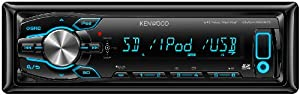 Kenwood Electronics KMM-361SD Autoradio USB / SD Noir