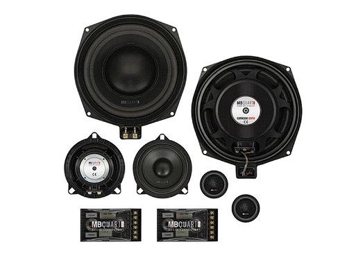 MB QUART QM 200.3BMW 3-Wege Kompo-System 20 cm/8' 80 Watt RMS für BMW