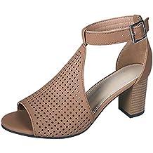 blaue damen sandalen reno