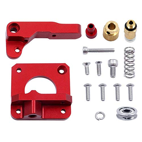 FOONEE Ends 3 Enhanced Replacement MK8 Extruder, 3D Printer Kit Extruders Power Unit Accessories Aluminum Extrusion 1.75mm CR-10 CR-10s