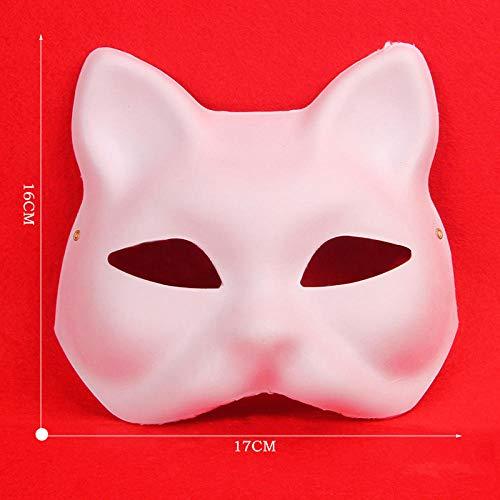 von Formen DIY reine weiße Maske für DIY Urlaubsparty ()