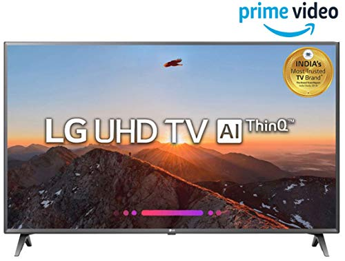 LG 126 cm (50 Inches) 4K UHD LED Smart TV 50UK6560PTC (titan) (2018 model)