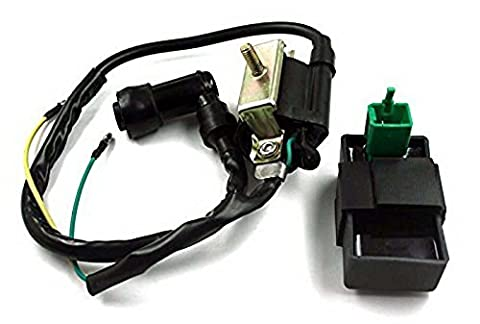 CDI Ignition Components Box and Ignition Coil Set Adapter for
