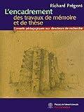 L'encadrement des travaux de mémoire et de thèse - Conseils pédagogiques aux directeurs de recherche