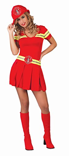KOSTÜM - FEUERWEHR FRAU - Größe 38-40 (M) (Feuerwehr Frau Kostüm Kostüm)
