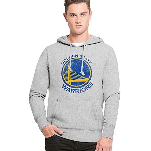 '47 Brand Golden State Warriors Knockaround Hoodie NBA Sweatshirt XL (Warriors 47 Golden Brand State)