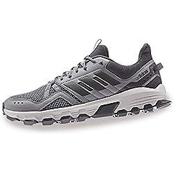 Adidas Rockadia Trail, Zapatillas de Deporte para Hombre, (Gritre/Gricin/Grisei 000), 44 EU