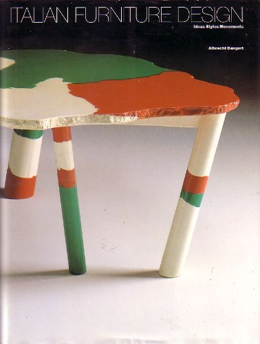 Italian Furniture Design: Ideas, Styles, Movements