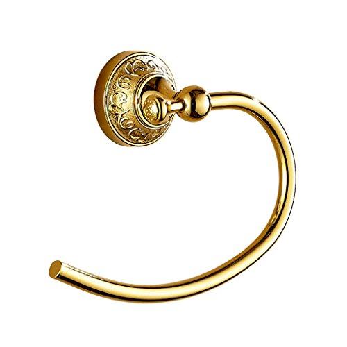 LI JING SHOP- Pendente muro del bagno oro europeo di stile tovagliolo tovagliolo dell'anello del (Famiglie Luce Ciondolo Pendente)