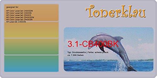 kompatibel Druckkassette/Tonerkassette 3.1-CB400BK für: HP LaserJet C4005N als Ersatz für HP CB400A / 642A - Cb400a-ersatz