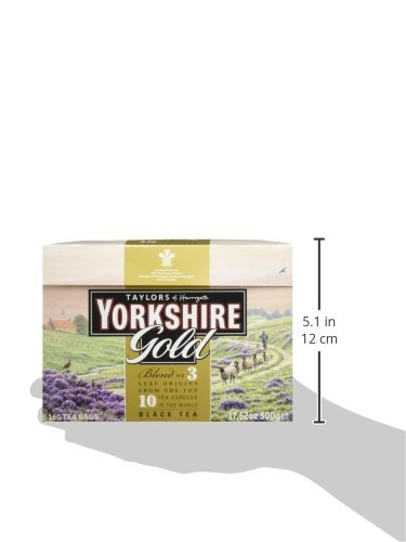 Taylors of Harrogate Yorkshire Tea Gold 160 Btl. 500g