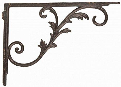 Regalbodenträger Regalträger Regalhalter Winkel Gusseisen antik