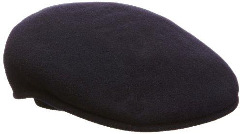 Kangol - Bonnet Wool 504 - Mixte - Bleu (Dark Blue) - Small