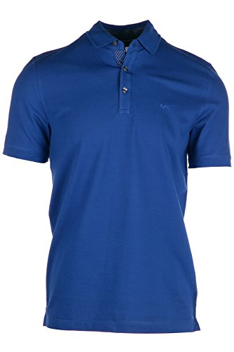 Michael Kors polo t-shirt maglia maniche corte uomo blu EU L (UK 40) CS65FU30FH927