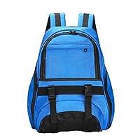 TENDYCOCO Backpack Soccer Backpack Basketball School Shoulder Bags for Men Boys (Blue)