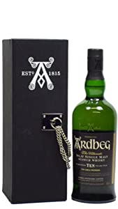 Ardbeg - The Ultimate in Leatherette Box - 2000 10 year old Whisky by Ardbeg
