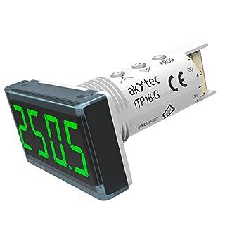 akYtec ITP16-G Temperaturanzeige, Grün