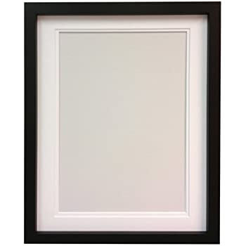 RIO Black Photo Picture Frame with White Double A4 for Pic Size 9\