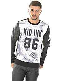 Sweat homme Gov Denim Kid Ink