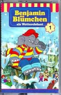 Schmidt Spiele GmbH Benjamin Blümchen - Folge 1: als Wetterelefant [Musikkassette]