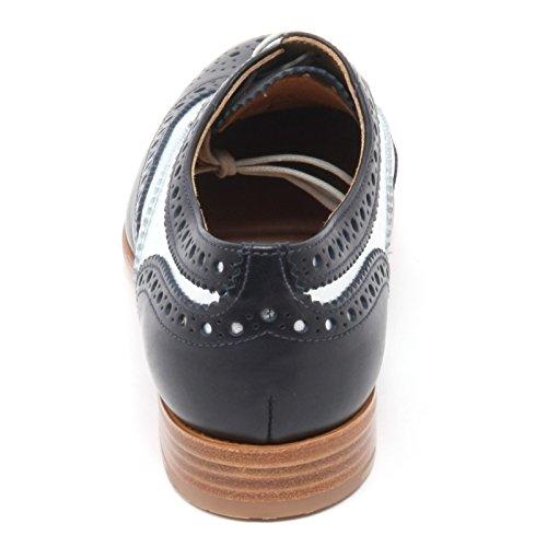 B6118 scarpa inglese donna CHURCHS BURWOOD III scarpe blu/argento shoe woman Blu/Argento